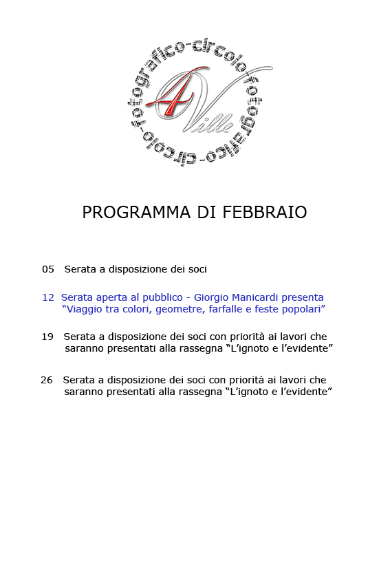 programma 02 2013