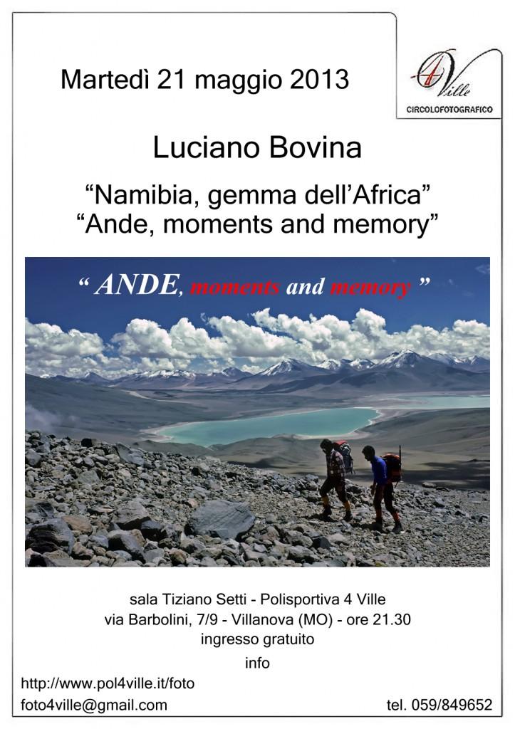 locandina Luciano Bovina