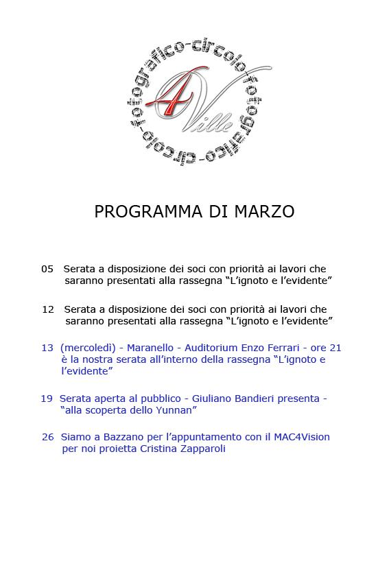 Programma 032013