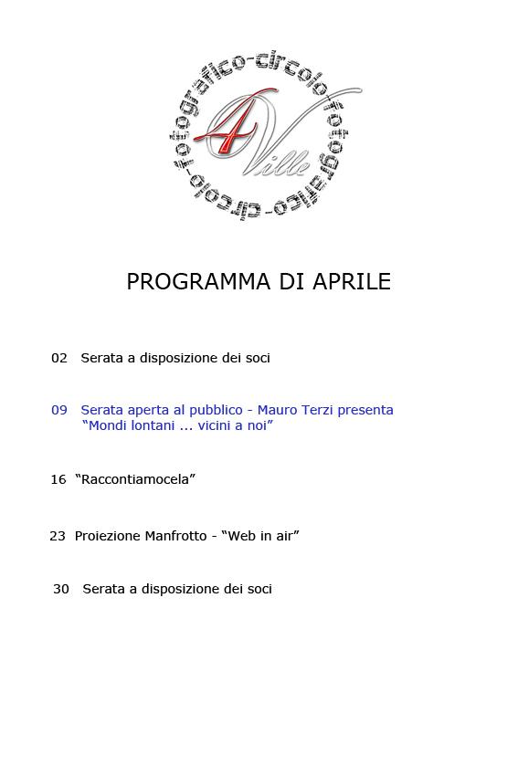 Programma 04 2013