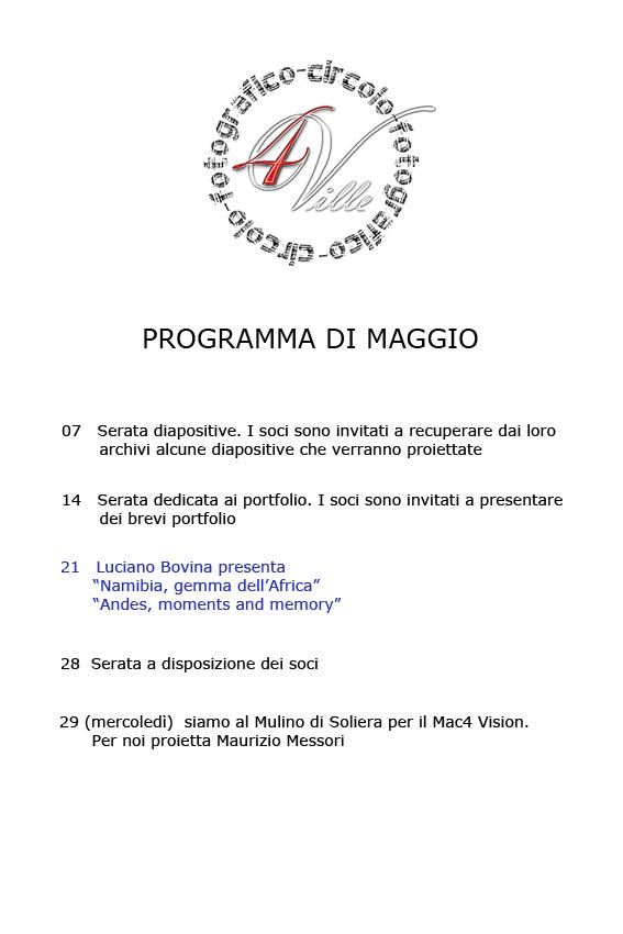 Programma 05 2013
