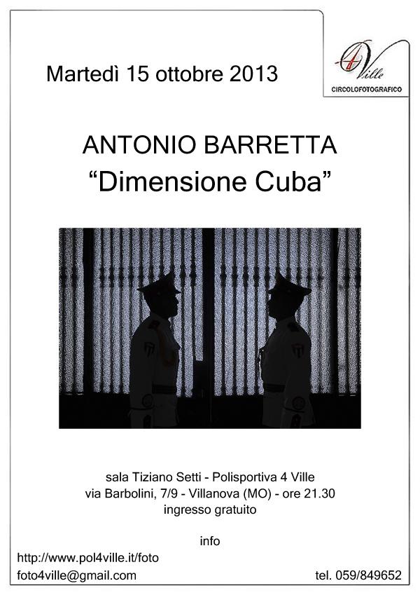 locandina Antonio Barretta rid