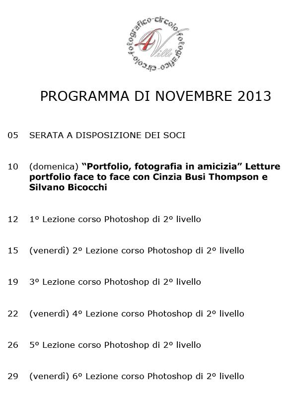 Programma 112013