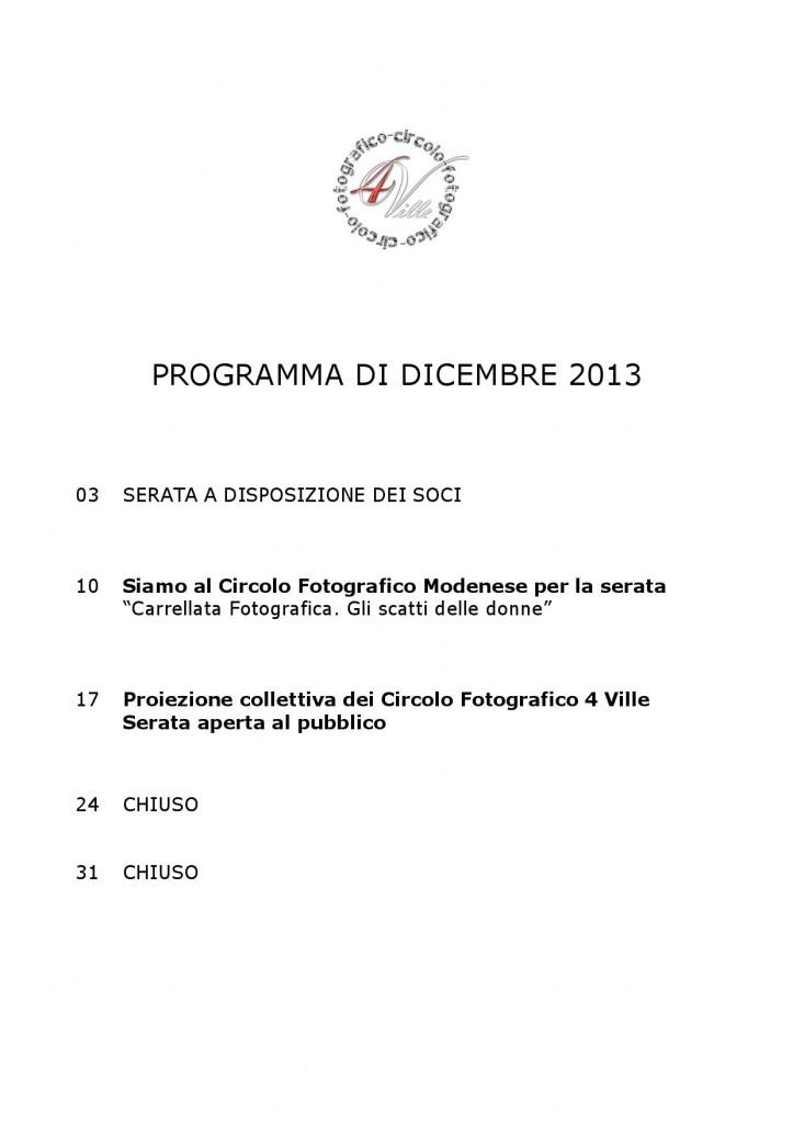 Programma 12 2013