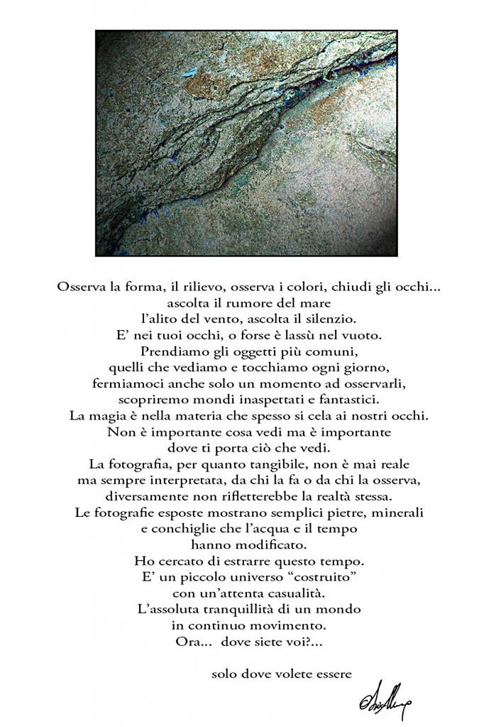 Marco Obici MostraCampogalliano Terreni Astrali manifesto introduttivo