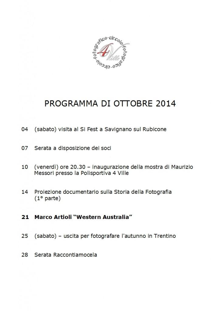 Programma 10 2014