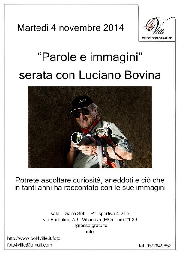 locandina serata Luciano Bovina definitiva rid