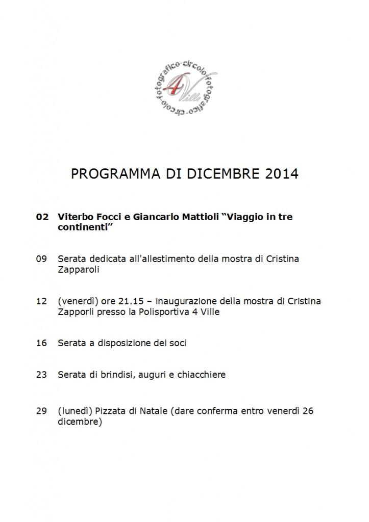 Programma 12 2014