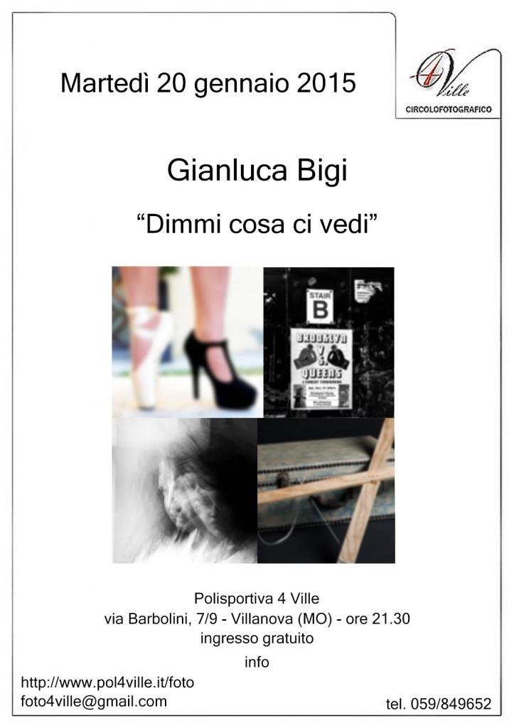 locandina Gianluca Bigi