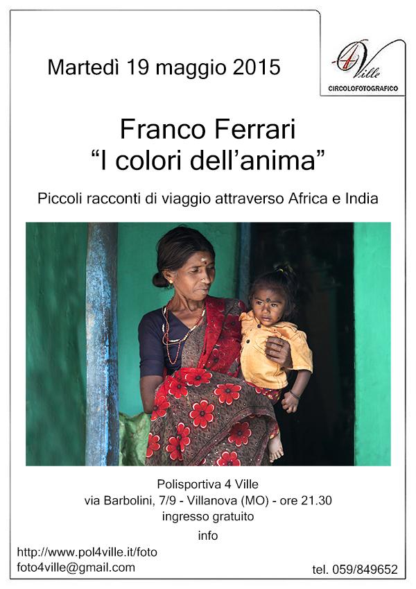 locandina Franco Ferrari rid