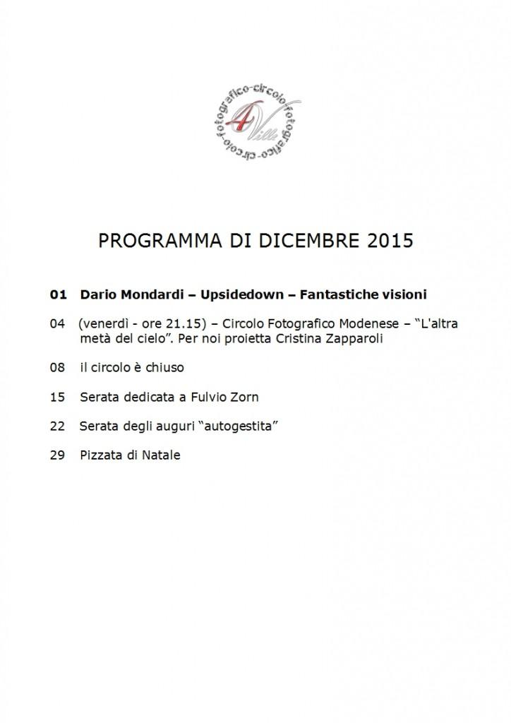 Programma 12 2015