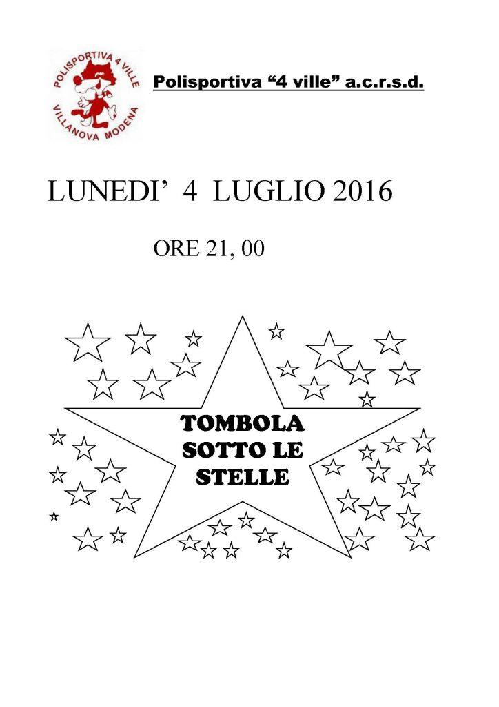 VOLANTINO TOMBOLA FESTA POL 2016 SENZA SFONDO