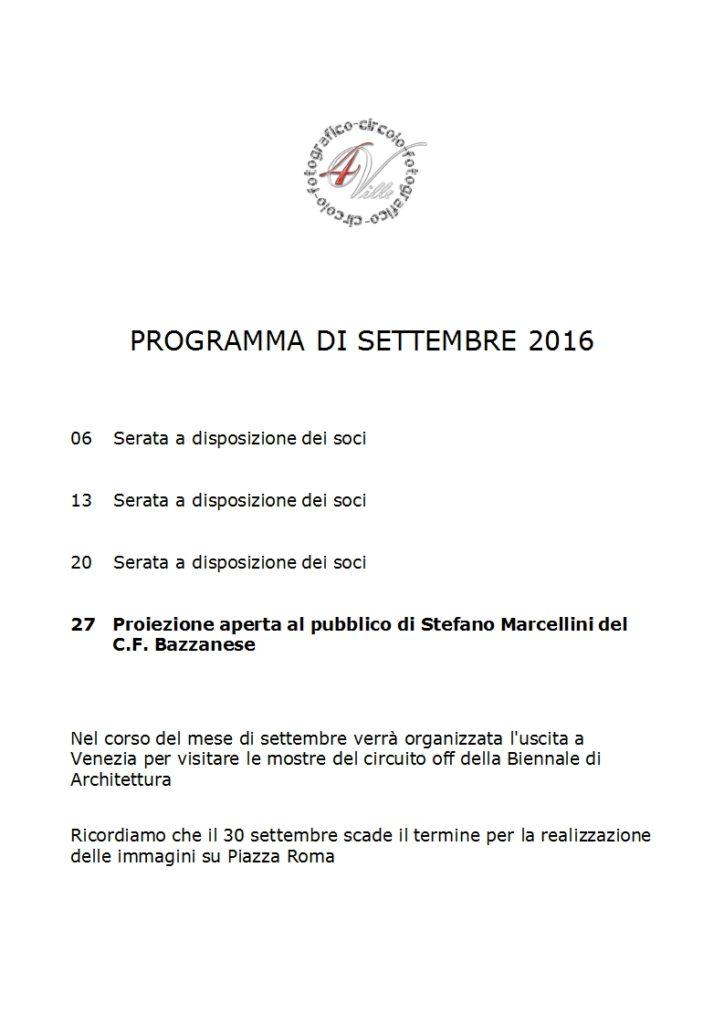 Programma 09 2016